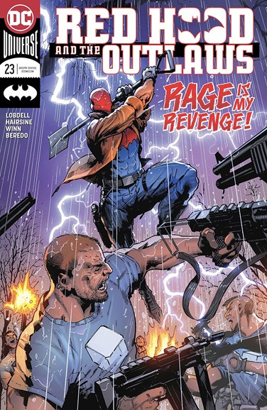Red Hood and the Outlaws Cover - 8/1/2018