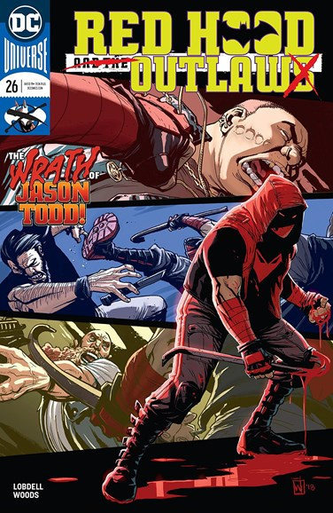 Red Hood and the Outlaws Cover - 11/1/2018