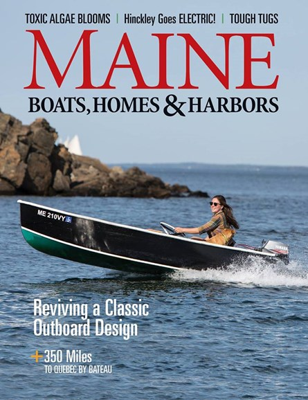 Maine Boats, Homes & Harbors Cover - 1/1/2018