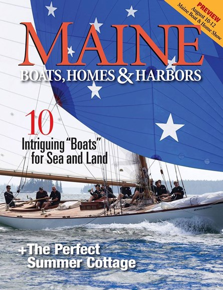 Maine Boats, Homes & Harbors Cover - 7/1/2018