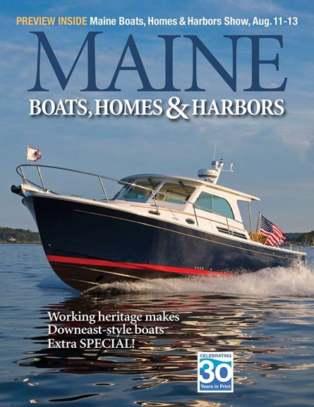 Maine Boats, Homes & Harbors Cover - 7/1/2017