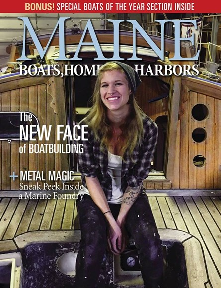 Maine Boats, Homes & Harbors Cover - 3/1/2018