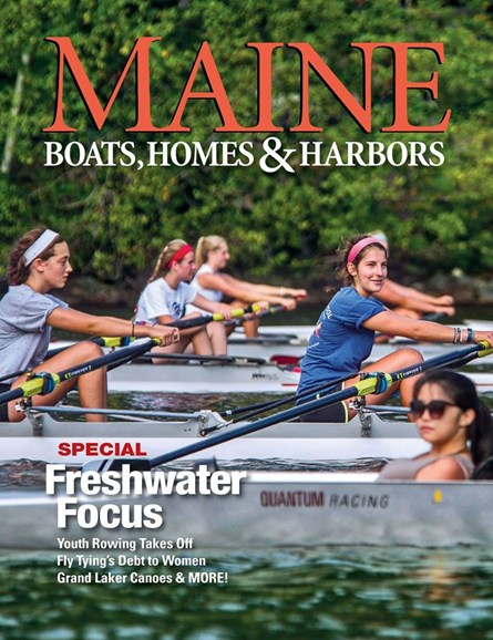 Maine Boats, Homes & Harbors Cover - 5/1/2018