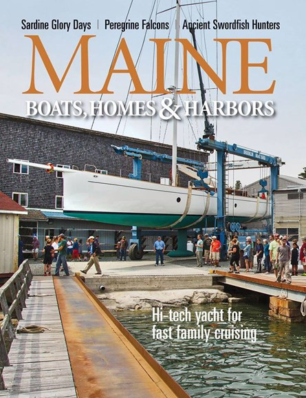 Maine Boats, Homes & Harbors Cover - 11/1/2017
