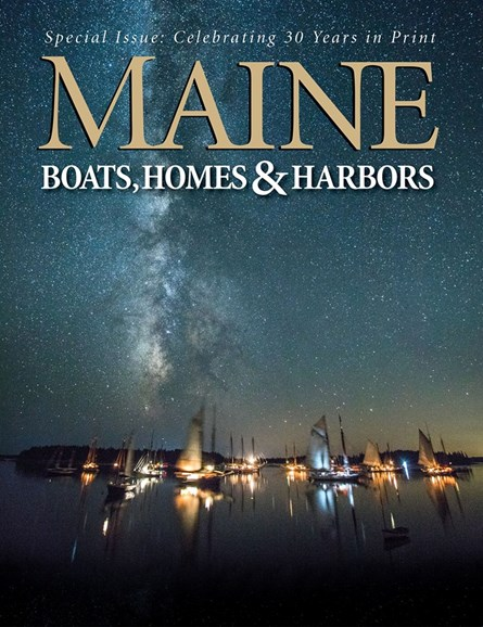 Maine Boats, Homes & Harbors Cover - 9/1/2017