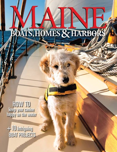 Maine Boats, Homes & Harbors Cover - 1/1/2017