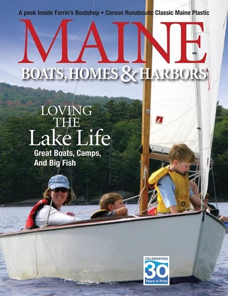Maine Boats, Homes & Harbors Cover - 5/1/2017