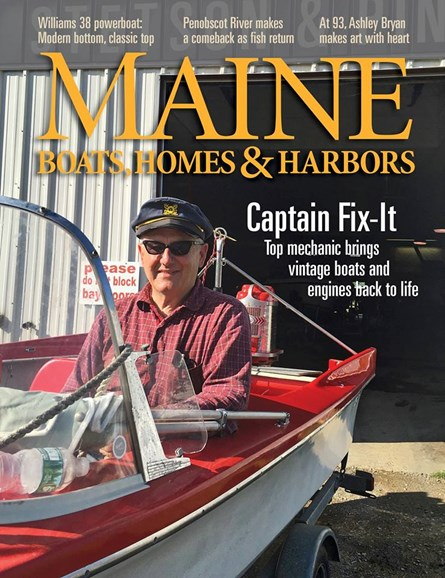 Maine Boats, Homes & Harbors Cover - 11/1/2016
