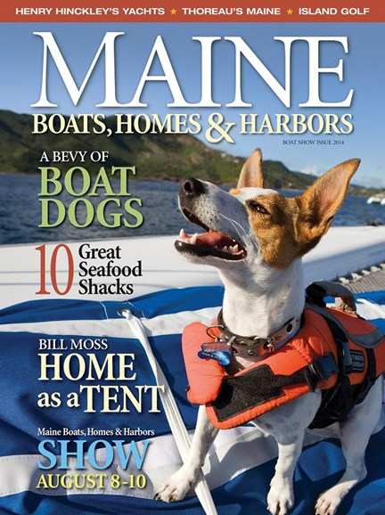 Maine Boats, Homes & Harbors Cover - 8/1/2014