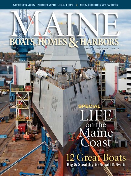 Maine Boats, Homes & Harbors Cover - 2/1/2014