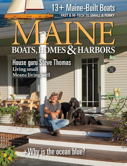 Maine Boats, Homes & Harbors Cover - 1/1/2016