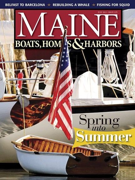 Maine Boats, Homes & Harbors Cover - 7/1/2013