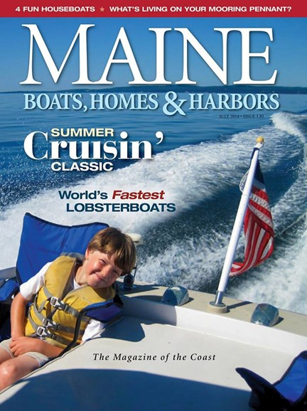 Maine Boats, Homes & Harbors Cover - 7/1/2014
