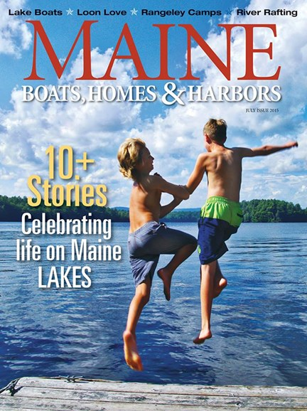 Maine Boats, Homes & Harbors Cover - 7/1/2015