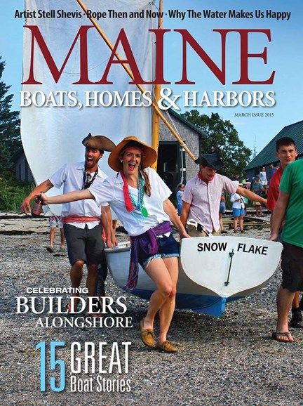 Maine Boats, Homes & Harbors Cover - 3/1/2015