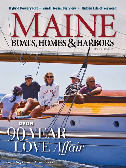 Maine Boats, Homes & Harbors Cover - 5/1/2014