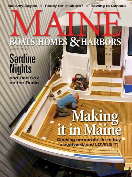 Maine Boats, Homes & Harbors Cover - 5/1/2015