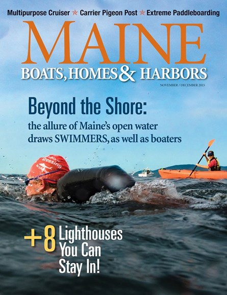 Maine Boats, Homes & Harbors Cover - 11/1/2015