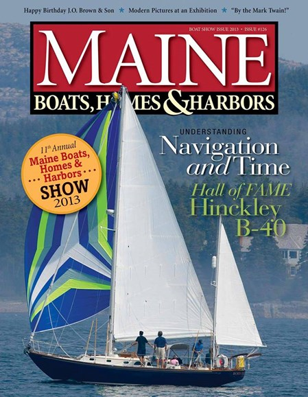 Maine Boats, Homes & Harbors Cover - 9/1/2013