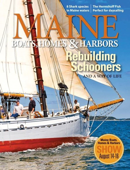 Maine Boats, Homes & Harbors Cover - 9/1/2015