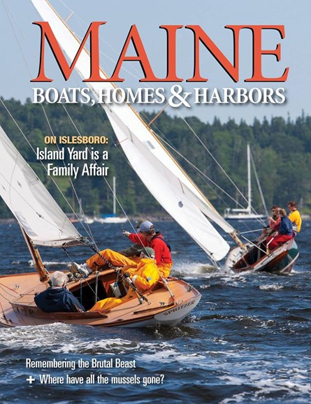 Maine Boats, Homes & Harbors Cover - 9/1/2018