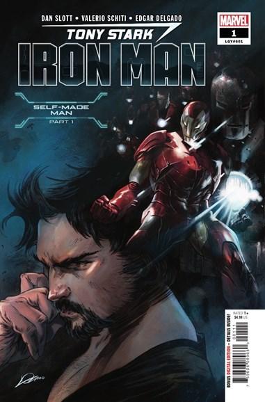 Tony Stark: Iron Man Cover - 8/1/2018