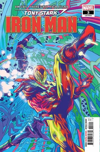 Tony Stark: Iron Man Cover - 10/1/2018