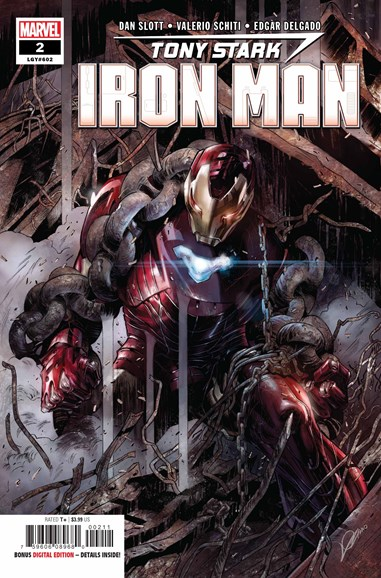 Tony Stark: Iron Man Cover - 9/1/2018
