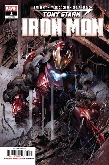 Tony Stark: Iron Man Cover - 9/1/2018