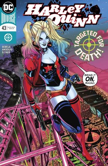 Harley Quinn Cover - 8/1/2018
