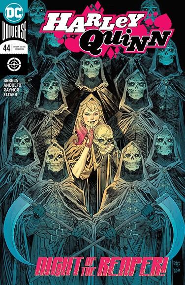 Harley Quinn Cover - 8/15/2018
