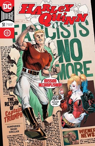 Harley Quinn Cover - 12/1/2018