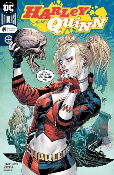 Harley Quinn Cover - 11/1/2018