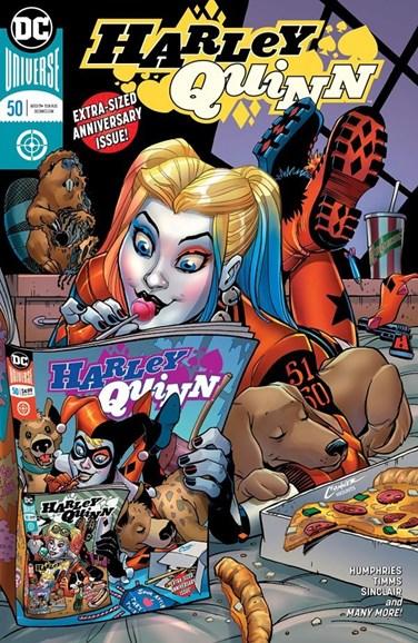Harley Quinn Cover - 11/15/2018