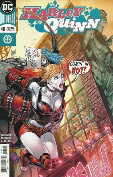 Harley Quinn Cover - 10/15/2018