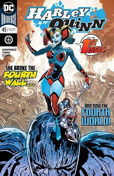 Harley Quinn Cover - 9/1/2018