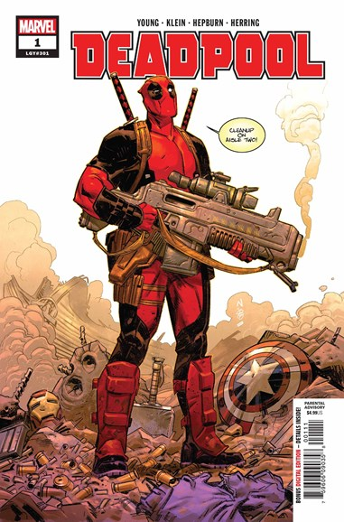 Deadpool Cover - 8/1/2018