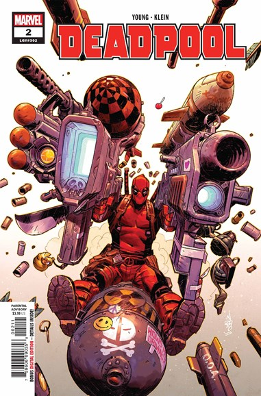Deadpool Cover - 9/1/2018