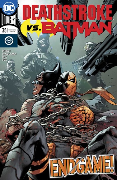 Deathstroke Cover - 11/1/2018