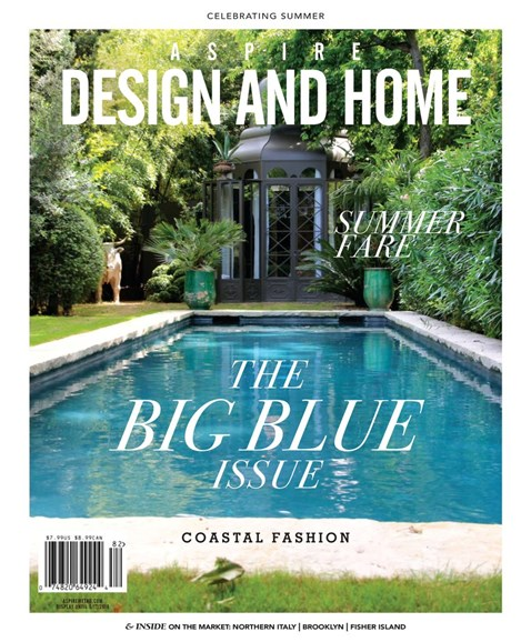 Aspire Design and Home Cover - 6/1/2018