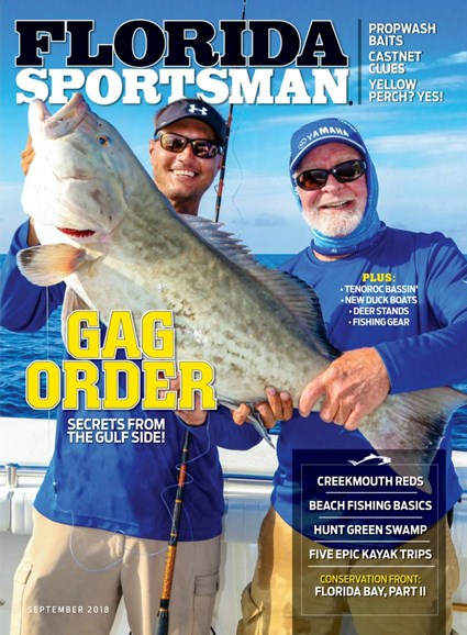 Florida Sportsman Cover - 9/1/2018
