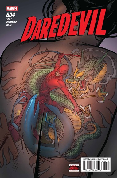 Daredevil Cover - 8/1/2018