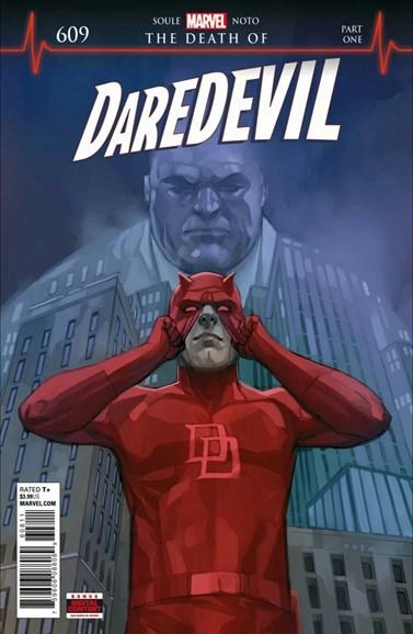 Daredevil Cover - 12/1/2018