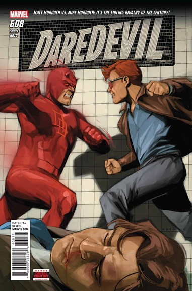 Daredevil Cover - 11/1/2018