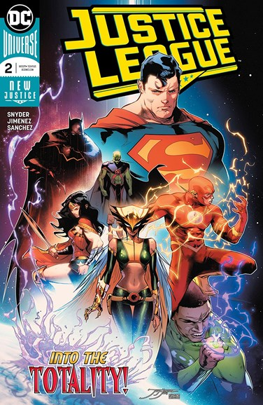 Justice League Cover - 8/15/2018