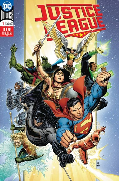 Justice League Cover - 8/1/2018