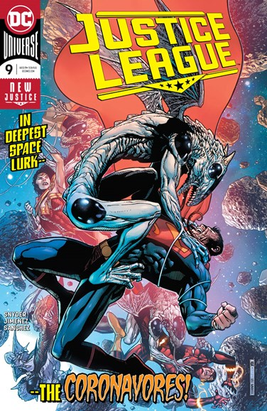 Justice League Cover - 12/1/2018
