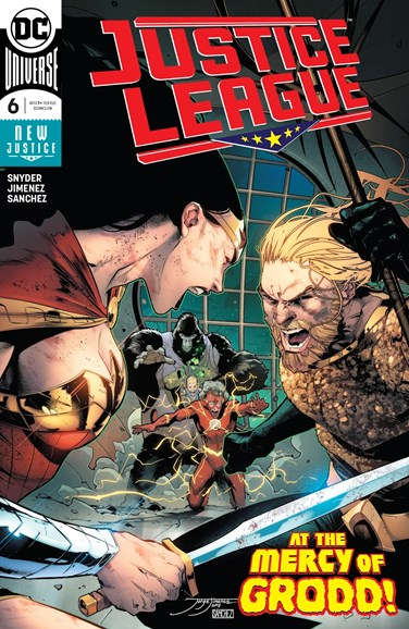 Justice League Cover - 10/15/2018