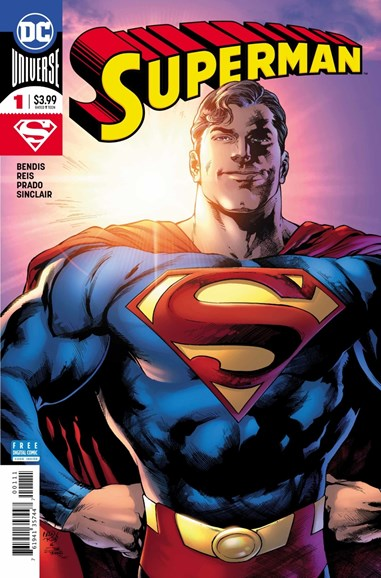Superman Cover - 9/1/2018