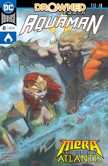 Aquaman Cover - 12/1/2018